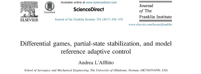 Differential Games and partial-state stabilization